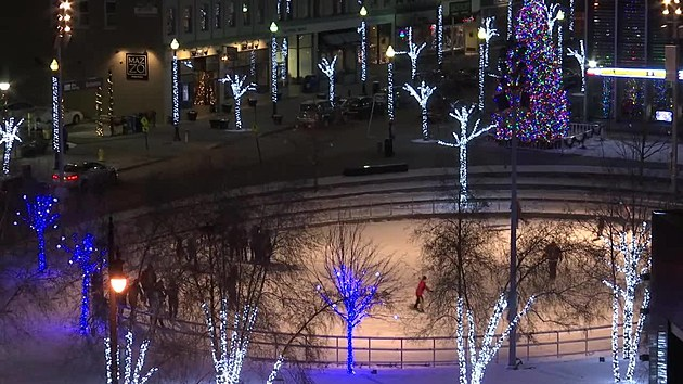 Rosa Parks Circle Ice Rink/Facebook
